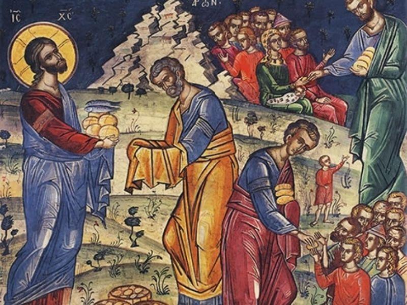 18° domingo tempo comum- pão Partilhado