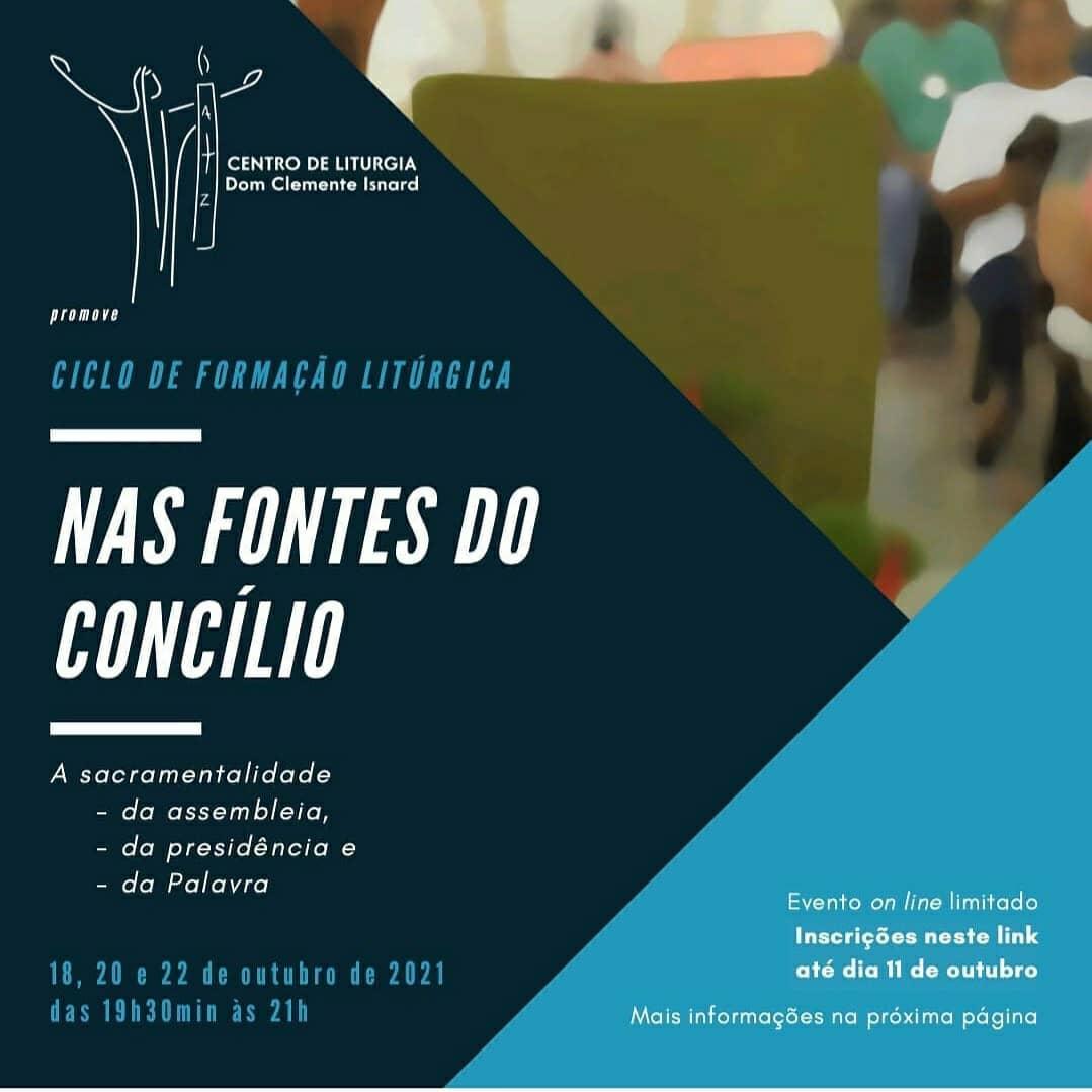 CICLO DE FORMAÇÃO LITÚRGICA